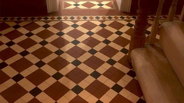 edwardian floor tiles london mosaic