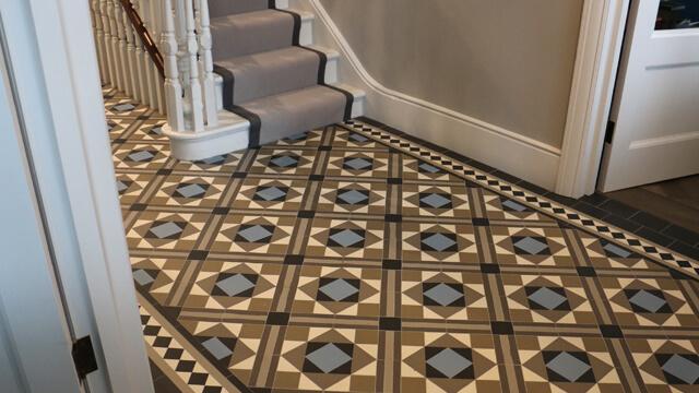 london mosaic victorian floor tiles