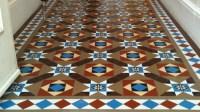 Geometric Floor Tiles | London Mosaic