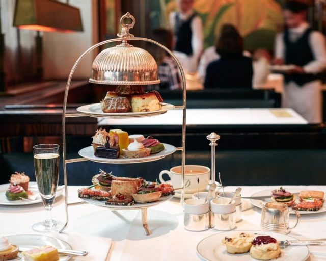 Afternoon tea in London at The Delaunay