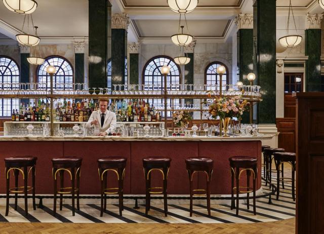bar at the ned hotel London