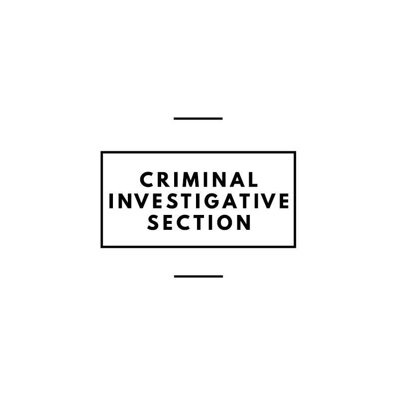 Criminal Investigative Section (CIS)