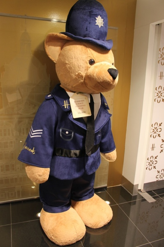 Teddy Bears At Harrods London Perfect