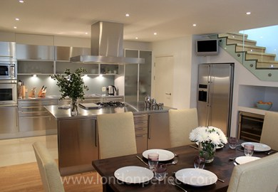 Luxury Apartments Kitchen