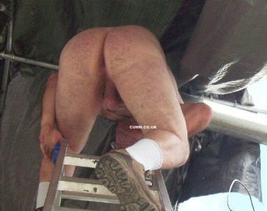 workmans arse hairy hungry hole