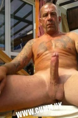 straight gay or bisexual mature hung-daddy-erection