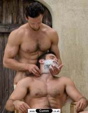 naked barber big dick hairy