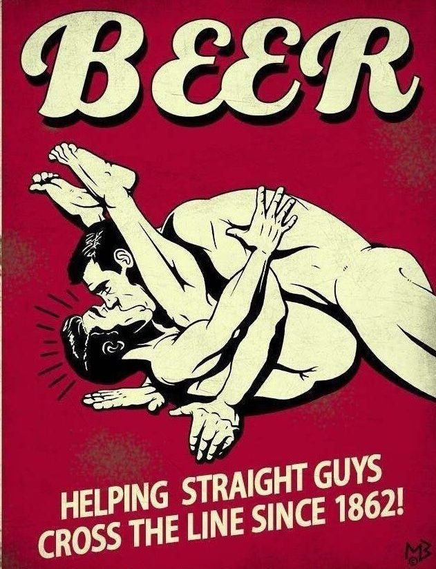 Beer Makes You Queer – Official!