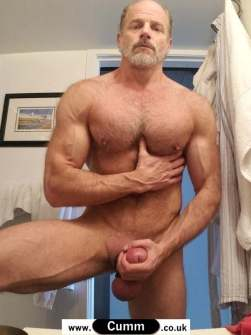 daddy bear big thick cock - Copy