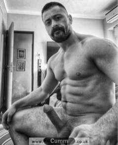 big-masculine-muscular-men-hairy-hung-horny-at-home-godly