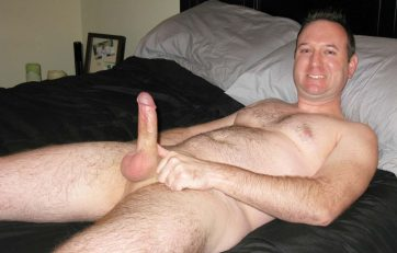 daddy wanking in bed
