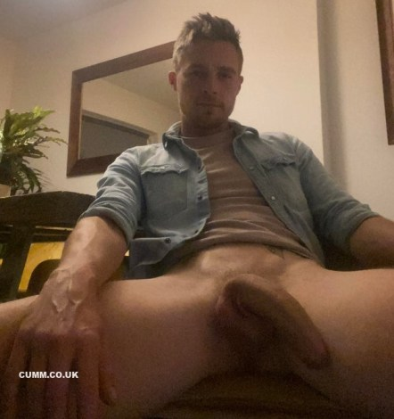 curved cock semi erection sexy bloke
