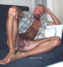 over-50-silver-dad-nude-soft-cock