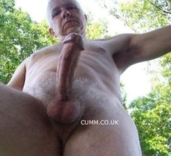 Erections hung silver daddy