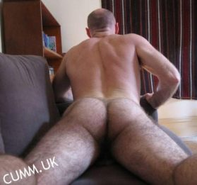 daddy arse hairy