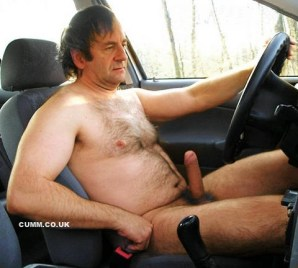 mature driving erect