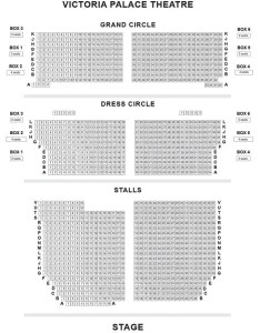 also victoria palace theatre seating plan chart london uk rh londontheatre