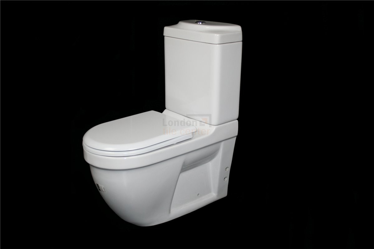 DARIA WC TOILET WITH SOFT CLOSE SEAT