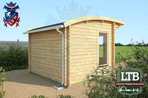 London Timber Buildings Log Cabin Wembley Range 3.2m x 2.8m WEM011 004
