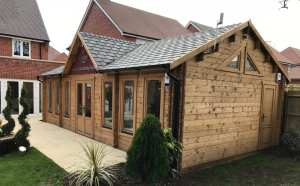 Bespoke Knightsbridge log cabin
