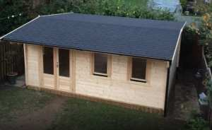 Chiswick Log Cabin