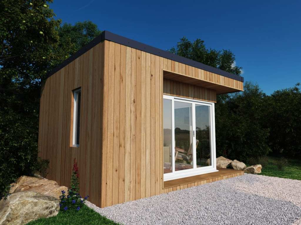 The Mayfair Garden Room shown in Larch