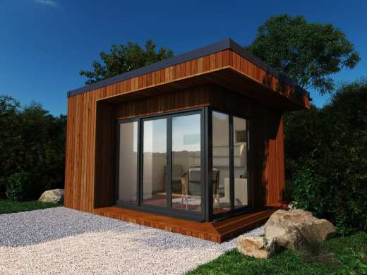 The Mayfair Garden Room shown in Cedar