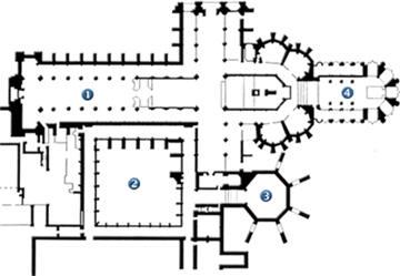 Planta Abadía de Westminster