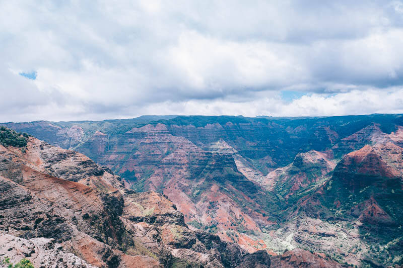 Uitzicht Waimea Canyon