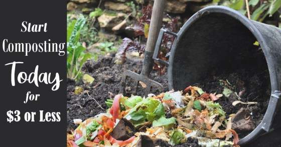 Start Composting Today for $3 or Less!