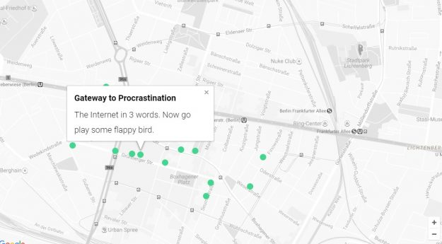 Explore the strangest Wi-Fi names in Berlin with this map