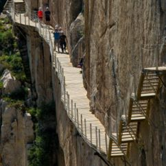 Wheelchair Transport Orange Living Room Chair Summer Tickets For Spain's Caminito Del Rey Go On Sale