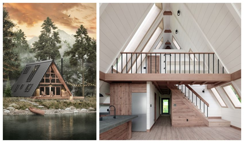 Build Your Own Beautiful And Sleek Flat Pack Cabin With