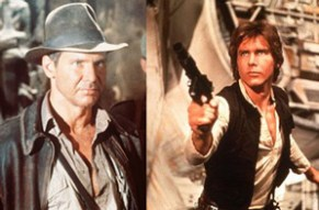 Indiana Jones and Han Solo
