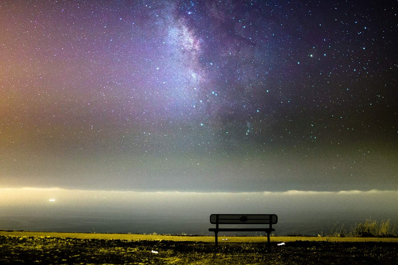 Expose To The Right For Astrophotography In Light Pollution Palos Verdes Los Angeles