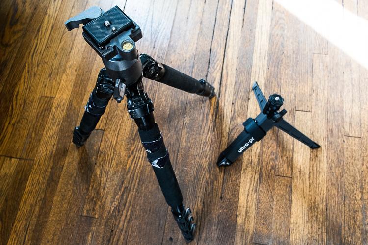 Slik Tripod and Ultra Pod II