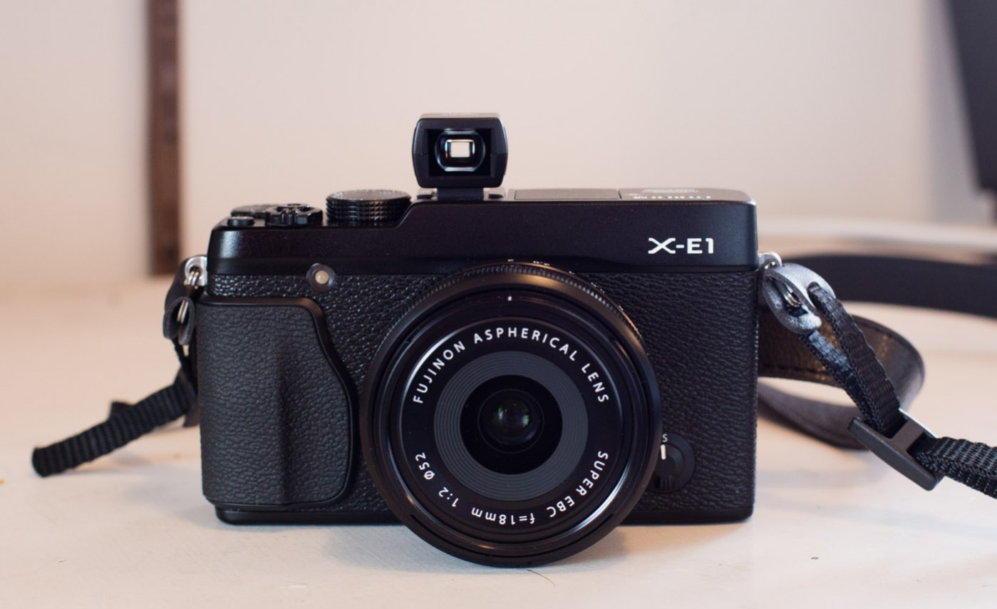 Fujifilm X-E1 with the Sigma VF-11 Optical Viewfinder