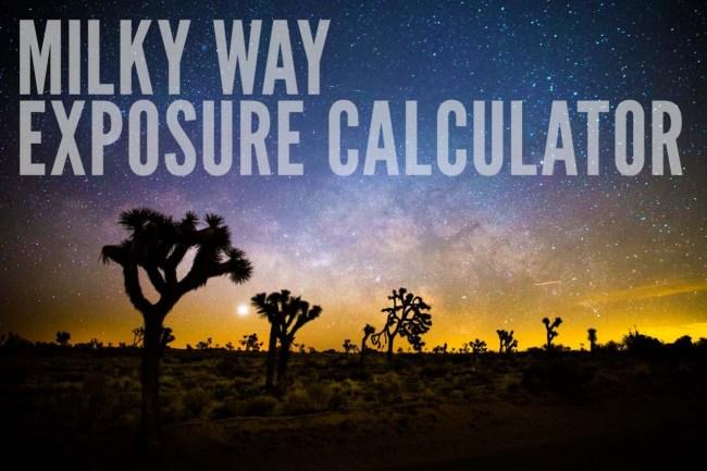 milky-way-exposure-time-calculator