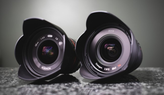 Comparison: Rokinon 12mm f/2.0 NCS CS vs. Zeiss Touit 12mm f/2.8