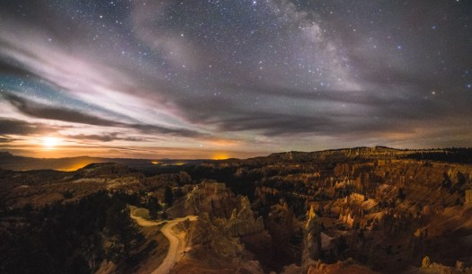 Rokinon 8mm f/2.8 Fisheye II, Fujifilm X-T1 - Bryce Canyon National Park, Utah