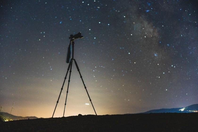 Kit astrophotographe débutant trépied