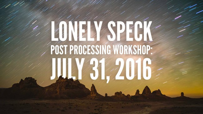 lonely-speck-post-processing-workshop-2016