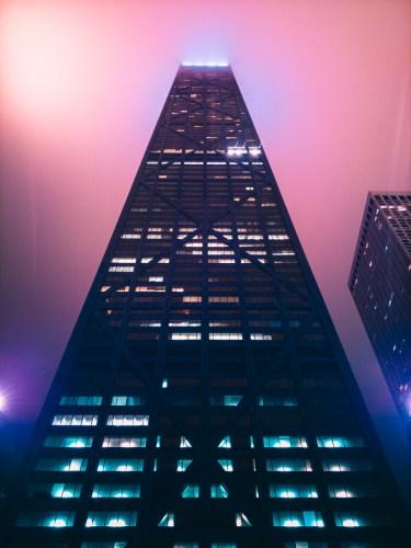 Hancock Tower, Chicago. LG V30. 15s, f/1.9, ISO 50