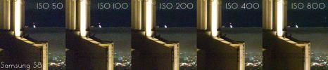 Samsung Galaxy S8 ISO Invariance Test