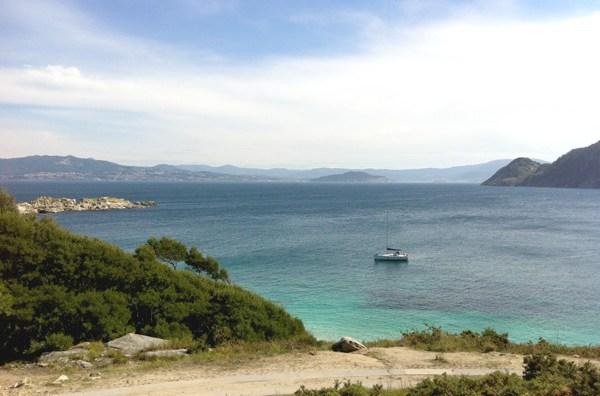 Panorama delle Islas Ciés