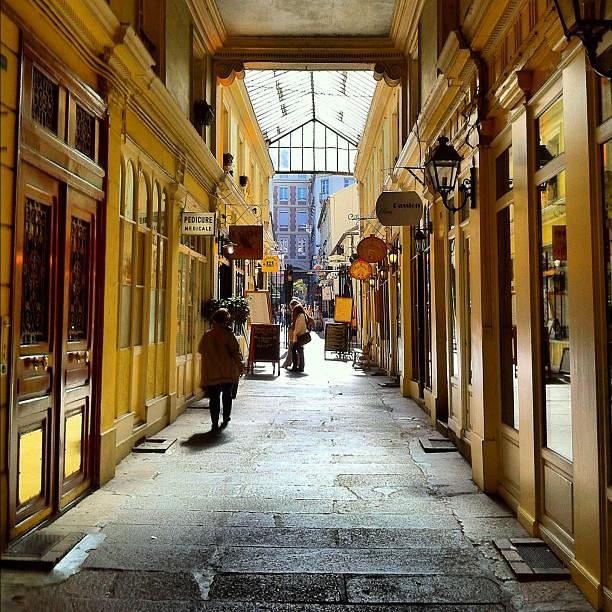 Il passage Saint Andre des Arts