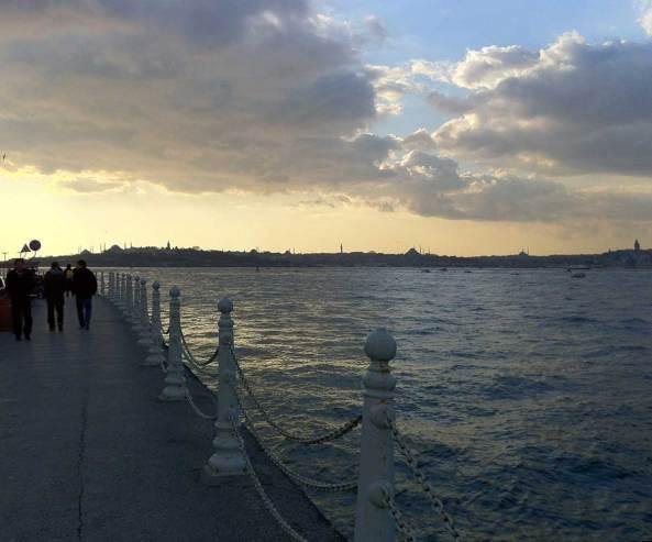 Visitare Istanbul, il lungomare a Üsküdar
