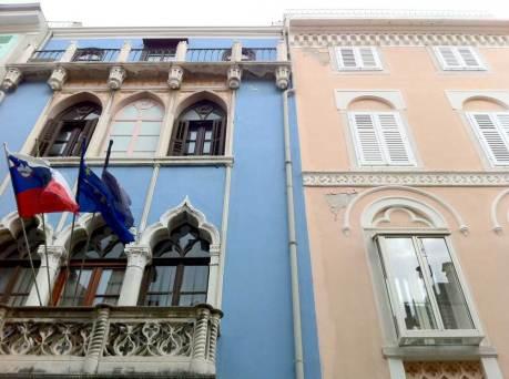 Le case colorate del centro di Pirano (Foto: Caterina Chimenti / Lonely Traveller, licenza CC 2.0)