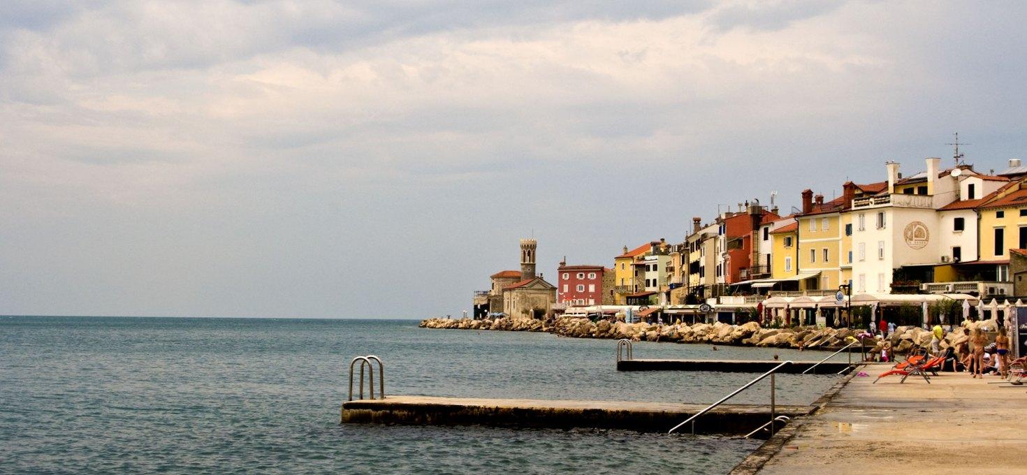 Raggiungere Pirano e Portorose dall'Italia