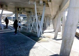 L'area attorno alla piazza del Campus di Vigo